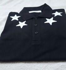 a8449a29a961e Givenchy Casual Cuban Star Polo Shirt Black Cotton size XL