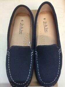 Ladies Mykonos Loafer shoes by Jo & Joe Slip on very comfy Final Clearance Sale