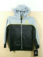 Air Jordan Jumpman Boys Hoodie Elephant Print Therma Fit 853064-174 Size 6