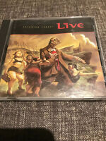 LIVE - THROWING COPPER - CD - VGC