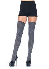 Chaussettes Côtelées - Leg Avenue Leg Avenue Gris Taille Unique