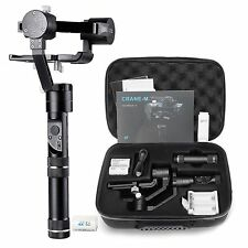 ZHIYUN TECH Crane-M 3 Axis Handheld Gimbal Video Stabilizer for Mirrorless DSLR