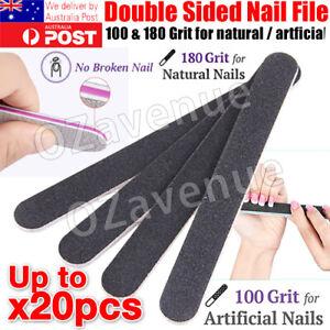 Nail Files Sanding Grit Buffer Emery Board Gel Nail File Art Pedicure Manicure