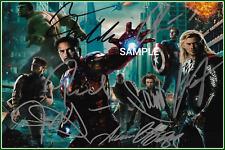 4x6 SIGNED AUTOGRAPH PHOTO REPRINT of The Avengers Cast #TP