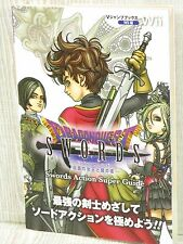 DRAGON QUEST SWORDS Action Super Guide Wii Book VJ50*