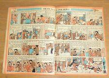 Rare TINTIN 1955 publication journal portuguais Cavaleiro andante