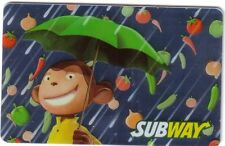SUBWAY CANADA Limited Edition Gift Card 2014 New No Value (ENGLISH/FRENCH)