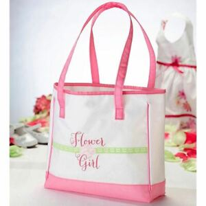 Flower Girl Tote Bag Bridal Party Gifts for Wedding Day Accessories