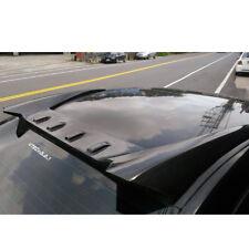 Carbon Fiber FOR Honda Civic 8th 4DR Sedan Rear Window Fin Roof Spoiler Wing NEW