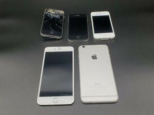 4x Apple iPhone Handy - defekt oder als Ersatzteillager u.A. iPhone 6 Plus