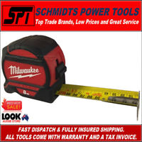 MILWAUKEE 48227528 8m TAPE MEASURE WIDE BLADE 4m STANDOUT 8 METRE 48-22-7528 NEW