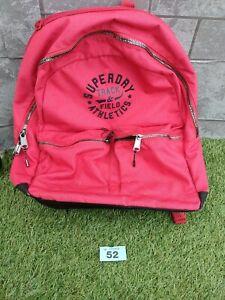 Superdry rucksack backpack red