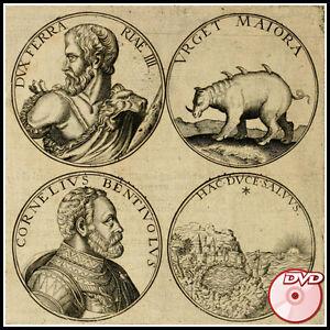 NUMISMATICS   Very Rare old books 16th-18th century   Coins Money   3 DVD's