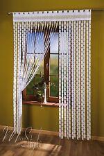 String Curtain Bianco Greco Chiave finestra porta FRANGIA CIECA pannello FLY SCREEN Nappe