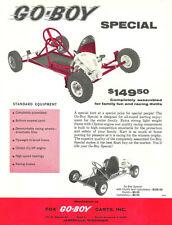Vintage 1960's Fox Go-Boy Special Go-Kart Brochure