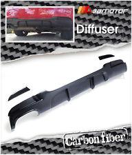 Carbon Fiber P Rear Diffuser Single for 06-08 BMW E90 E91 Pre-LCI M Tech Bumper