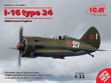 ICM 1/32 PLASTIC KITS 1-16 TYPE 24 WWII SOVIET FIGHTER ICM32001