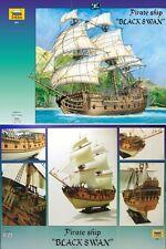 Zvezda 9031 - Pirate Ship 'BLACK SWAN' - Nave Pirata (Scala 1/72)