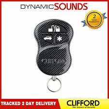 Genuine Clifford G5 Car Alarm 3 Button Remote Fob Original Carbon Remote