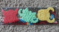 8-Bit Asgard Cookie Cutters Marvel Gear and Goods Exclusive NIP sealed Thor Loki