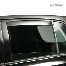 Clear Windabweiser hinten Jaguar X-Type 4-door 01/02-