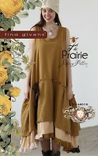THE PRAIRIE SLIP DRESS SEWING PATTERN, from Tina Givens, *NEW*