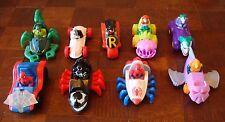 Marvel Animated - 1995/1996 - Car Lot of 9 - Spiderman, Robin, Joker & More