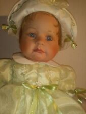 """Paradise Galleries Doll. My Little Miracle Collection Porcelain. 21"""" BABY DOLL"""