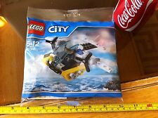LEGO Promo Police Prison Island Plane 30346 Daily Mail Unique Toy Sealed