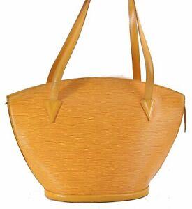Auth Louis Vuitton Epi SaintJacques Shopping Shoulder Bag Yellow M52269 LV C6863