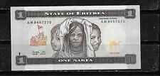 New listing Eritrea #1 1997 Unc Nakfa Banknote Bill Note Currency Paper Money