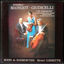 Bodin de Boismortier Corrette Ens Maingot-Giudicelli LP & CV EX