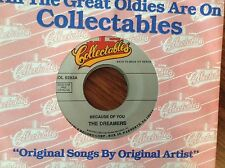 The Dreamers-Because Of You-The Neons-Golden Dreams Unplayed 45rpm