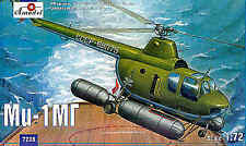 Amodel 1/72 Mil Mi-1MG float helicopter # 7238