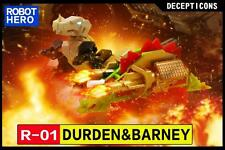Robot Hero Decepticon R-01 Durden & Barney,In stock!