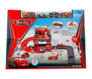 Lightning McQueen Parking Garage Playset
