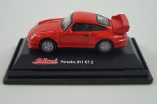 Schuco Modellauto 1:72 H0 Porsche 911 GT2
