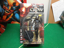 Mcfarlane Toys 1999 Movie Maniacs 2 The Crow Eric Draven Action Figure MOC