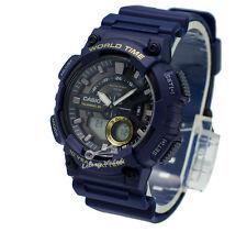 -Casio AEQ110W-2A Analog-Digital Watch Brand New & 100% Authentic