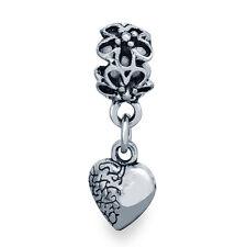 1pcs silver plated european charm dangle beads for bracelets charms dangle lot