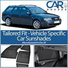 AUDI A6 Avant 1997-04 UV CAR SHADES WINDOW SUN BLINDS PRIVACY GLASS TINT BLACK