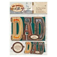 Papermania A5 Kit Découpage De cartes Mr Smith's Atelier for & loisirs créatifs