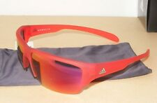 BNIB Adidas KUMACROSS HALFRIM S Sports Sunglasses RED a421/00 6058 00/00