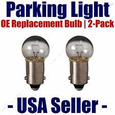 Parking Light Bulb 2-pack OE Replacement Fits Listed Rover Vehicles - 1895