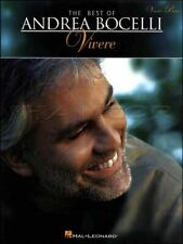 The Best of Andrea Bocelli Vivere Vocal Piano Sheet Music Book SAME DAY DISPATCH