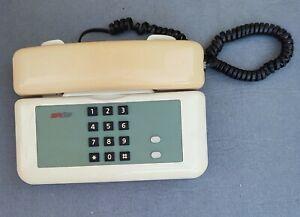 Telefono SIRIO SIP GIUGIARO  Design anni 90 bianco  a tasti CON SCATOLA