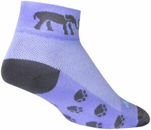 SockGuy Classic e Luv Socks - 2 inch, Purple, Women's , Small/Medium