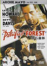 The Petrified Forest DVD Leslie Howard Bette Davis Humphrey Bogart NEW R0 1936