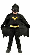 Chicos para niños Bat Boy Superhéroe Disfraz Día Del Libro Traje de Disfraz de Halloween