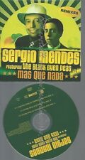 PROMO CD--SERGIO MENDES---MAS QUES NADA--3TR